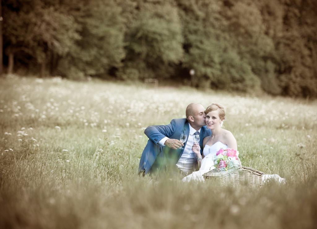 Romantická svatba, panství Velichov
