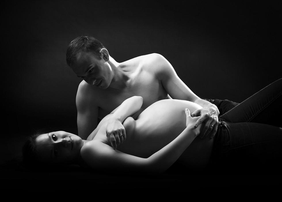 Co na sebe při těhotenském focení?