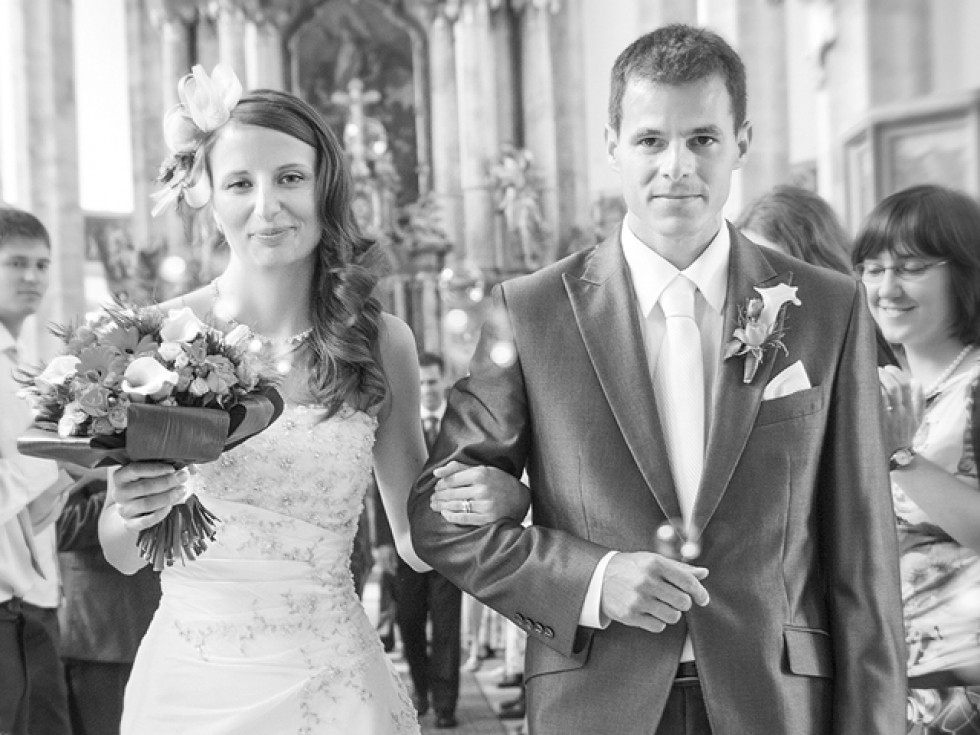Fotografování svatebního obřadu