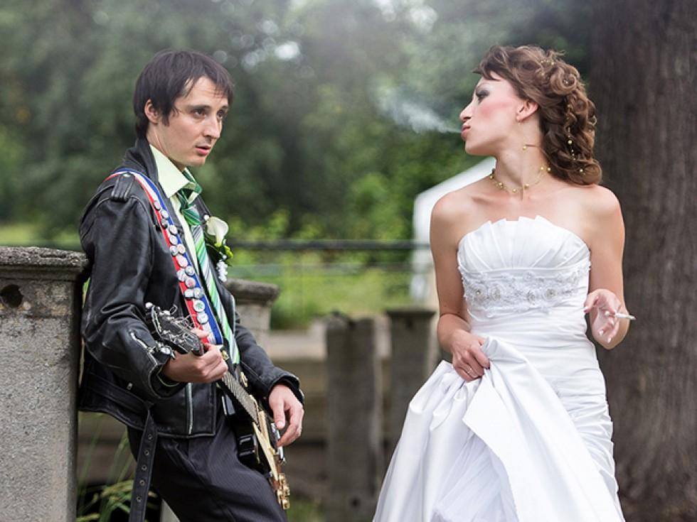 Svatební portrét trochu jinak